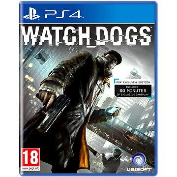 Watch Dogs CZ - PS4 (3307215732984)