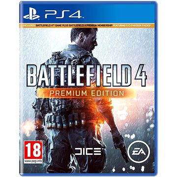 Battlefield 4 Premium Edition - PS4 (C0038449)