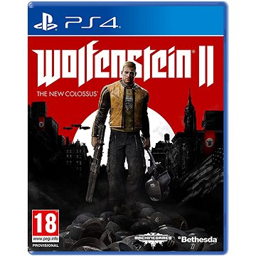 Wolfenstein II: The New Colossus - PS4 (5055856416784)