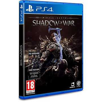 Middle-earth: Shadow of War - PS4 (5051892209359)