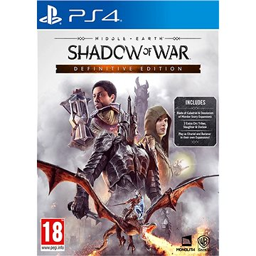Middle-earth: Shadow of War - Definitive Edition - PS4 (5051892216722)