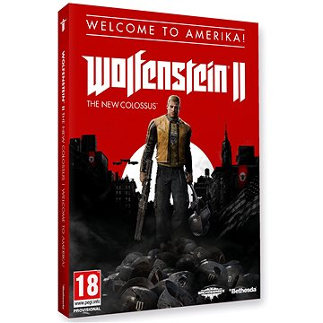 Wolfenstein II: The New Colossus Welcome to Amerika! - PS4 (5055856418238)