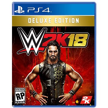 WWE 2K18 Deluxe Edition- PS4 (5026555423540)