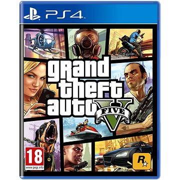 Grand Theft Auto V - PS4 (5026555416993)