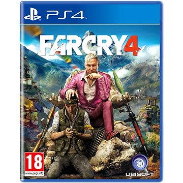 Far Cry 4 CZ - PS4 (3307215793466)