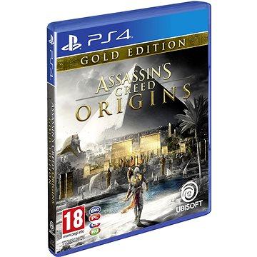 Assassins Creed Origins Gold Edition- PS4 (USP400292) + ZDARMA Herní doplněk k předobjednávce získej zdarma misi Tajemství prvních pyramid