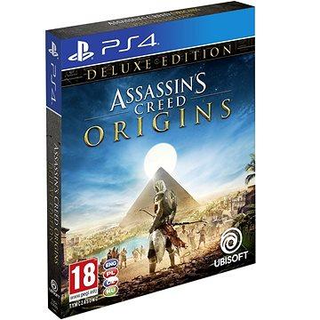 Assassins Creed Origins Deluxe Edition + Šátek - PS4 (USP400290) + ZDARMA Herní doplněk k předobjednávce získej zdarma misi Tajemství prvních pyramid