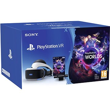 PlayStation VR pro PS4 + hra VR Worlds + PS4 Kamera (PS719981169)