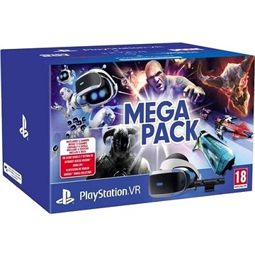 PlayStation VR Mega Pack pro PS4 (PS VR + Kamera + 5 her) (PS719786313)