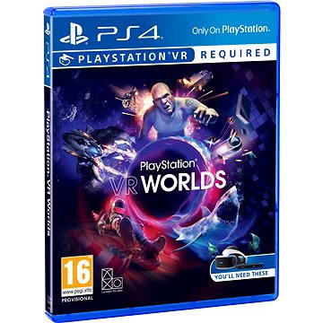 VR Worlds - PS4 VR (PS719854555)
