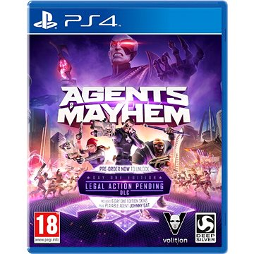 Agents Of Mayhem - PS4 (4020628784478) + ZDARMA Krabička originální Steelbook Agents of Mayhem