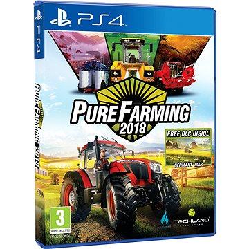 Pure Farming 2018 - PS4 + ZDARMA Kšiltovka Zetor Čepice Hardworker