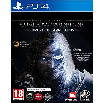 Middle-earth: Shadow of Mordor Game of The Year Edition - PS4 (5051892191388)