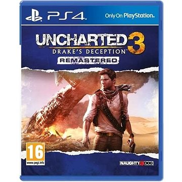 Uncharted 3: Drakes Deception Remastered - PS4 (PS719802464)