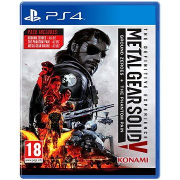 Metal Gear Solid 5: The Phantom Pain Definitive Experience - PS4 (4012927102060)