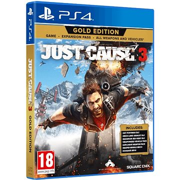 Just Cause 3 Gold - PS4 (5021290078222)