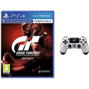 Gran Turismo Sport + DS4 ovladač GT Sport (PS719932468)