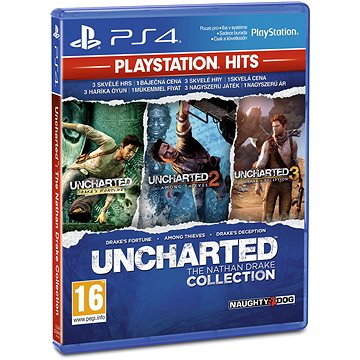 Uncharted : The Nathan Drake Collection CZ - PS4 (PS719866831)