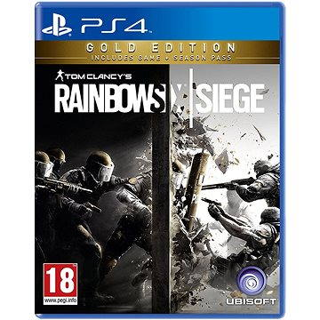 Tom Clancys Rainbow Six: Siege Gold Edition - PS4 (3307215985304)
