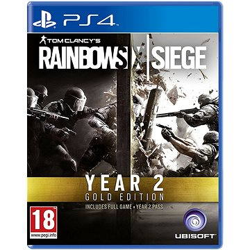 Tom Clancys Rainbow Six: Siege Gold Season 2 - PS4 (3307216001935)