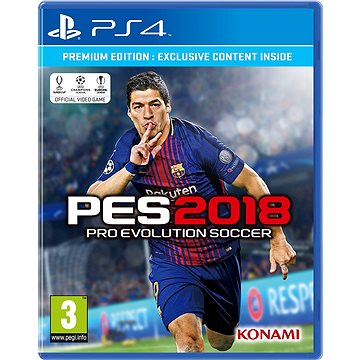 Pro Evolution Soccer 2018 Premium Edition - PS4 (4012927103258)