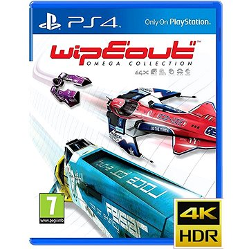 WipEout: Omega Collection - PS4 (PS719853763)