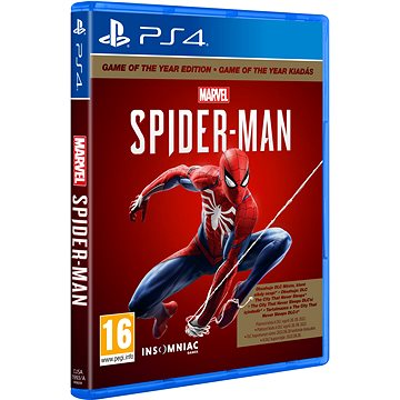 Marvels Spider-Man GOTY - PS4 (PS719958208)