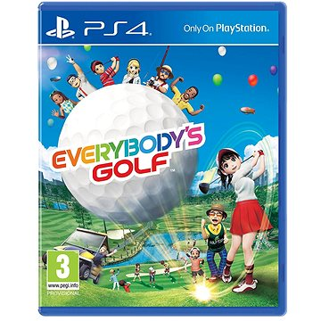 Everybody's Golf - PS4 (PS719859369)