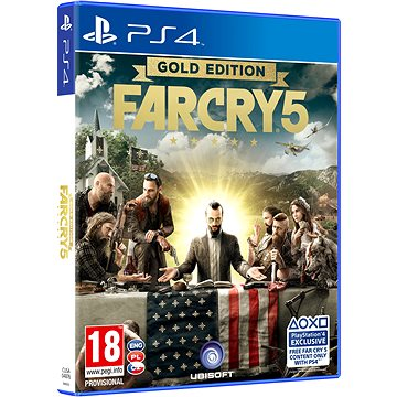 Far Cry 5 Gold Edition - PS4 (3307216023456)