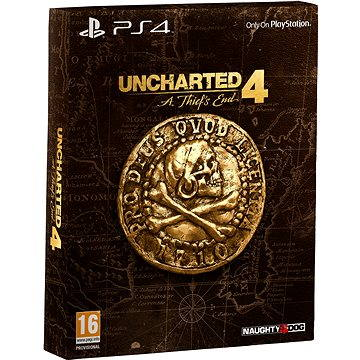 Uncharted 4: A Thiefs End - Special Edition CZ - PS4 (PS719858744)