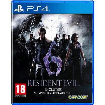 Resident Evil 6 HD - PS4 (5055060931721)