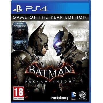 Batman: Arkham Knight GOTY - PS4 (505189220182)