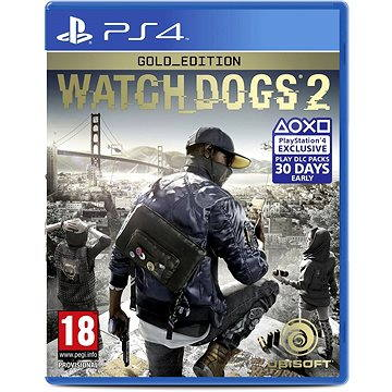 Watch Dogs 2 Gold Edition CZ - PS4 (USP484102)