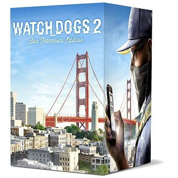 Watch Dogs 2 San Francisco Edition CZ - PS4 (USP484101)