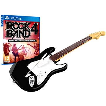 Rock Band 4 + Fender Stratocaster - PS4