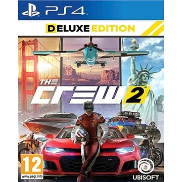 The Crew 2 Deluxe Edition - PS4 (3307216048589)