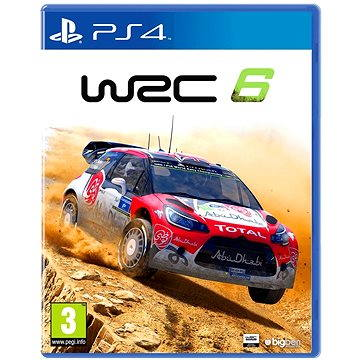 WRC 6: FIA World Rally Championship - PS4 (3499550351347)