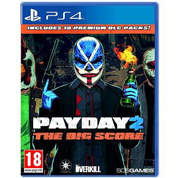 Payday 2 The Big Score - PS4 (8023171038049)