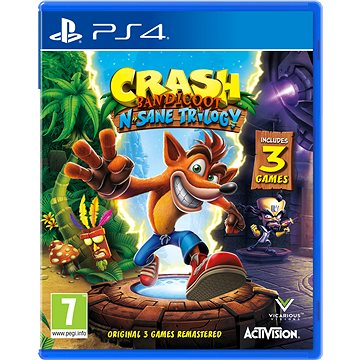 Crash Bandicoot N Sane Trilogy - PS4 (88080EN)