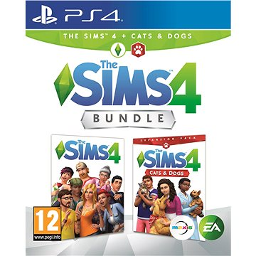 The Sims 4: Psi a Kočky bundle (Plná hra + rozšíření) - PS4 (1073025)