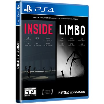 INSIDE/LIMBO Double Pack - PS4 (8023171040653)