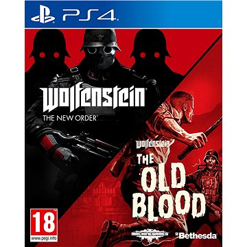 Wolfenstein: The New Order + The Old Blood - PS4 (5055856419457)
