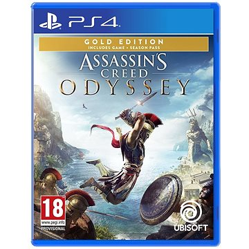Assassins Creed Odyssey - Gold Edition - PS4 (3307216067306)