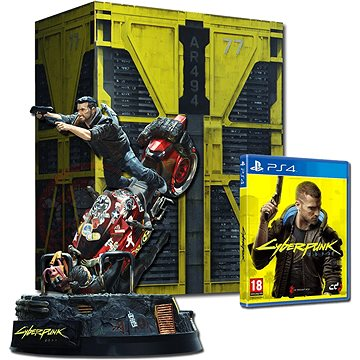 Cyberpunk 2077 Collectors Edition - PS4 (5902367641252)