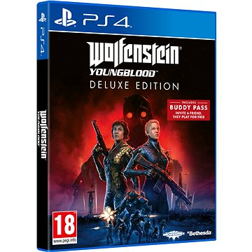 Wolfenstein Youngblood Deluxe Edition - PS4 (5055856425076)