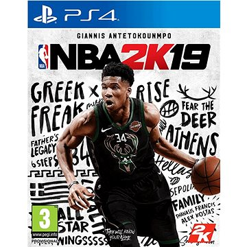 NBA 2K19 - PS4 (5026555424875)