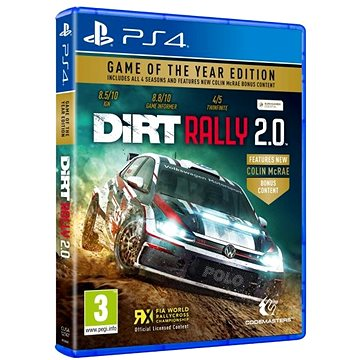 DiRT Rally 2.0 - Day 1 Edition - PS4 (4020628754365)