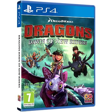 Dragons: Dawn of New Riders - PS4 (5060528031776)