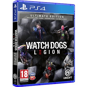 Watch Dogs Legion Ultimate Edition - PS4 (3307216137399)