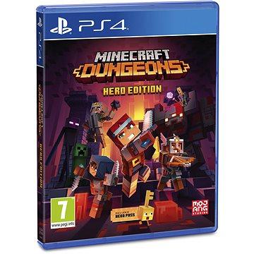 Minecraft Dungeons: Hero Edition - PS4 (5060760880644)